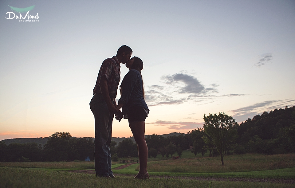 Southwest Missouri Engagement Photography