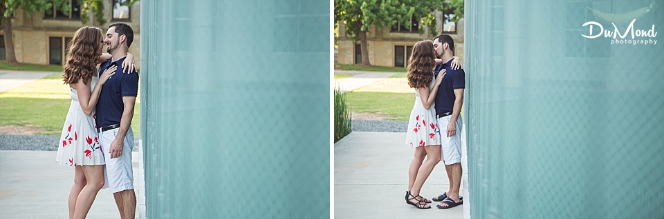 University of Arkansas Engagement Photographer